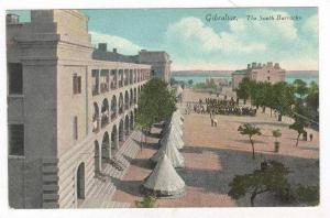 Tents pitched at South Barracks, Gibraltar, 00-10s
