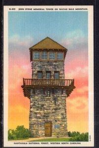 John Byrne Memorial Tower,Nantahala National Forest,Western North Carolina