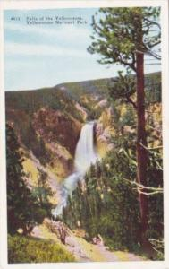 Falls Of The Yellowstone Yellowstone National Park
