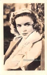 Dorothy McGuire Movie Star Actor Actress Film Star Postcard, Old Vintage Anti...