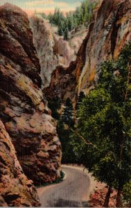 Colorado Colorado Springs South Cheyenne Canon The Cheyenne Gorge Curteich