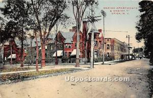 Oneida Apts & Oneida Street Utica NY Unused