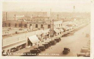 RP: BORLEY ,  Idaho , 1920s ; Overland Avenue