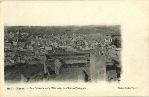 CPA AK MAROC SAFI Vue gnerale de la Ville prise de Chateau portugais (31570)