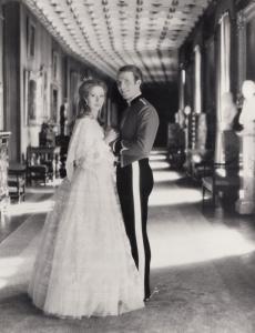 Princess Anne & Mark Philips Royal Wedding Date London Press Photo