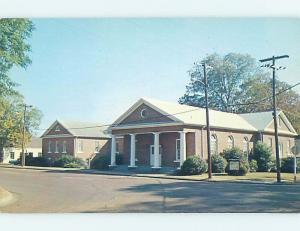 Unused Pre-1980 CHURCH SCENE Eutaw Alabama AL A6500