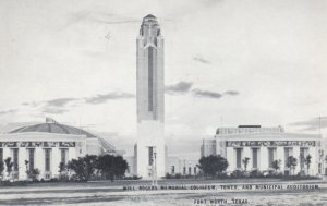 FORT WORTH , Texas , 1930s ; Will Rogers Memorial