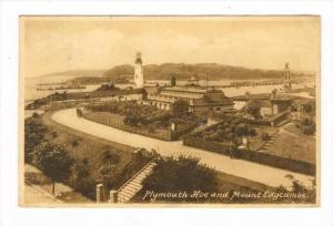 LIGHTHOUSE, Plymouth Hoe, England, UK, 1910s