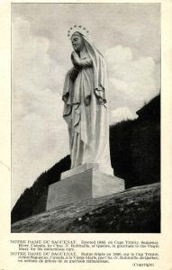 Canada - Quebec, Cape Trinity. Notre Dame du Saguenay