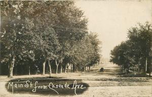 1907 Main Caseade Avenue River Falls Wisconsin Pierce RPPC real photo 1624