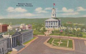 Tennessee Nashville Memorial Square