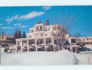 Pre-1980 HOMESTEAD RESTAURANT & COTTAGES Adirondacks - Lake Placid NY B8605