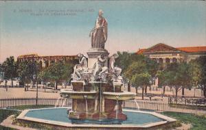 NIMES, Gard, France, 1900-1910's; La Fontaine Pradier