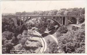 Luxemburg Pont Adolphe 1953 Real Photo