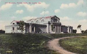 Missouri St Louis Forest Park Art Museum 1911