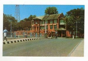 Clock Tower and Street,Malacca,Malaysia 1960-70s