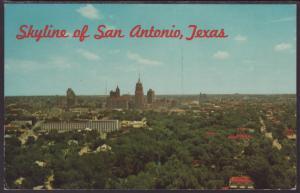 Skyline,San Antonio,TX Postcard BIN