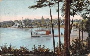 19555 VT  Cedar Beach, On Lake Champlain