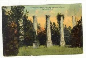 Ruins,Ex-Gov.Hampton's Home,Millwood,Columbia,So uth Carolina,00-10s