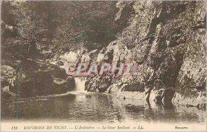 Postcard Old Surroundings of Vichy Ardoisiere Gour Saillant