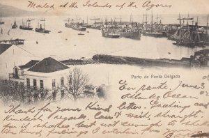 Porto de Ponta Delgada , PORTUGAL , 00-10s ; Azores