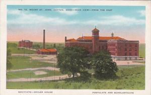 Ohio Dayton Mount St John Novitiate Boiler House Postulate and Scholasticate ...