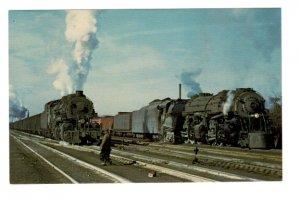 Railway Train, Norfolk & Western, Norfolk, Virginia 1956