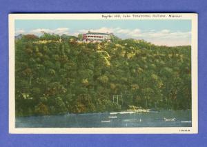 Hollister, Missouri/MO Postcard, Lake Taneycomo/Baptist Hill