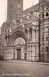 United Kingdom, Great Britain, England Main Entrance, Westminster Cathedral  ...