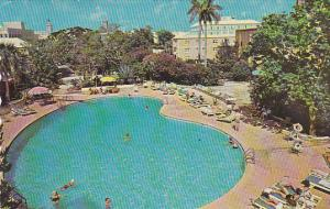 Swimming Pool Bermudiana Hotel Hamilton Bermuda 1965