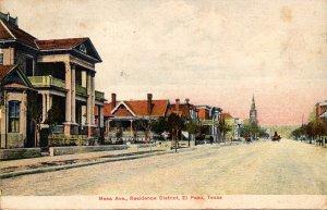 Texas El Paso Mess Avenue Residence Dustrict 1911