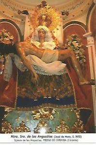 POSTAL 54429: Nuestra Se?ra de las Angustias de Jose de Mora siglo XVII. Prie...