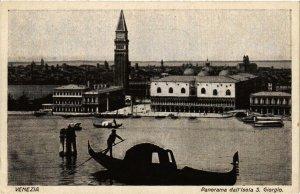 CPA AK VENEZIA Panorama dall'Isola S. Giorgio ITALY (496133)
