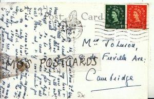 Genealogy Postcard - Jo Leeson? - 8 De Fieville Avenue - Cambridge - Ref 9553A