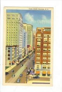 Tryon Street View, Charlotte, North Carolina, PU-1939
