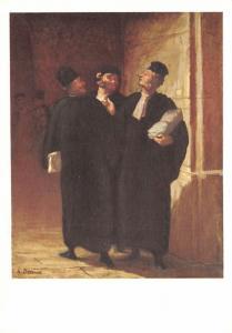 Three Lawyers - Daumier