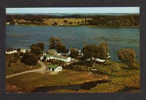 ON Caiger's Motel Lodge ROCKPORT ONTARIO Postcard