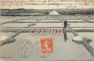 Old Postcard Croisic - Saltmarsh