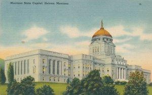 Helena MT, Montana - State Capitol Building - Linen