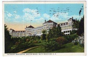 Bretton Woods, White Mountains, N.H., The Mount Washington