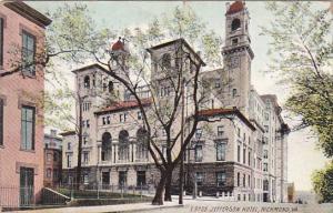 RICHMOND, Virginia, PU-1908; Jefferson Hotel
