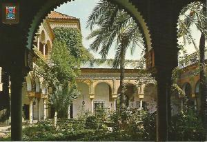 Postal 52324: SEVILLA - Palacio de las Due?s. Patio principal