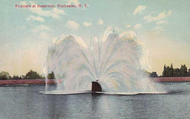 Fountain at Reservoir - Highland Park NY, Rochester, New York - DB