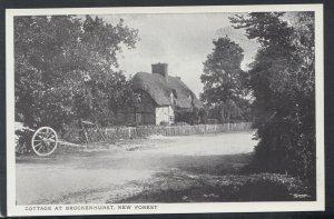 Hampshire Postcard - Cottage at Brockenhurst, New Forest   RS16526