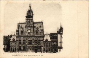 CPA   Compiégne -  L'Hotel de Ville (291946)