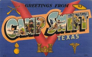 LP29 Texas Big Large Letters Camp Swift Military