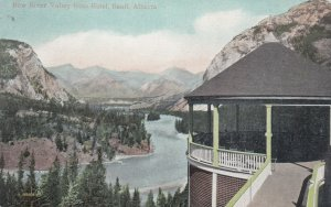 BANFF , Alberta , Canada , 1900-10s ; Bow River from Hotel