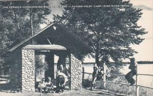 The Pergola Overlooking Whitefish Lake Father Foley Camp Pine River Minnesota...