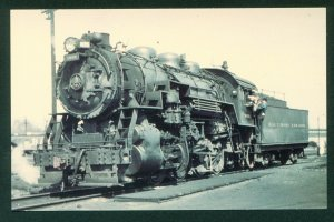 Baltimore and Ohio 0-8-0 Switcher No 1695 Coal Steam B&O Train Railroad Postcard