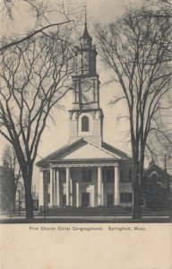 SPRINGFIELD , Massachusetts, 1901-07 ; First Church Christ Congregational